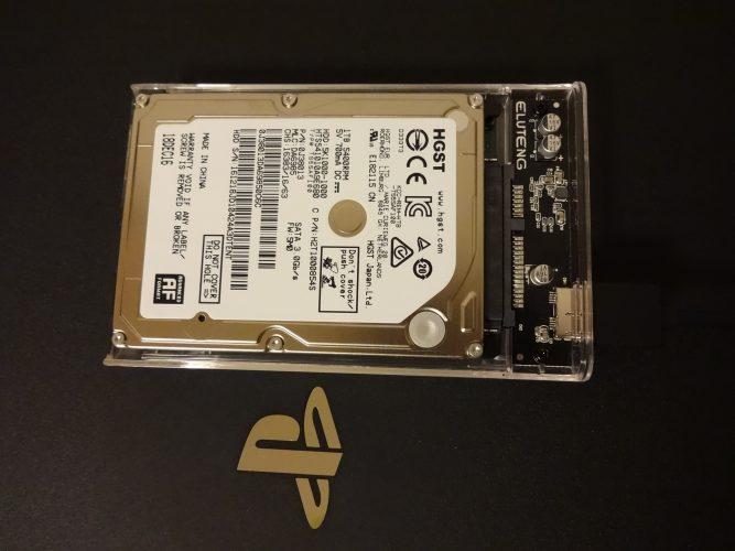 b1fed484fcfd83d8176037133e753c49 667x500 - 【PS4 PRO】の内蔵HDDをスケルトン外付けHDDにチェンジ!【画像あり】