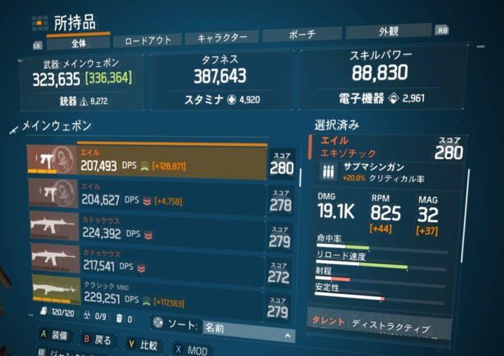 ディビジョン1.8.1最強エキゾチック武器ランキング エイル