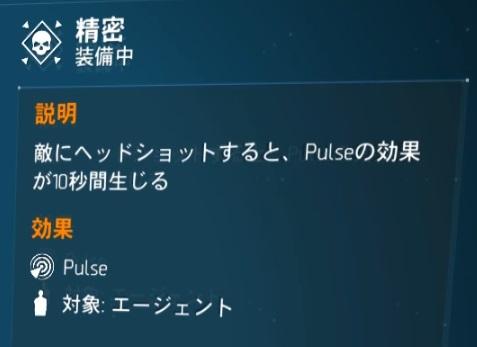 【ディビジョン1.8.1】 ローンスタークラシファイド + ビッグアレハンドロ タレント「精密」
