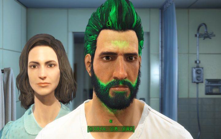 【Fallout 4】初心者向き序盤攻略法【楽しい!まで最速到達!】1 顔・体型設定