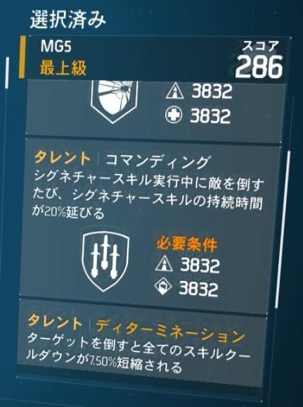 【ディビジョン】ロンスタ6コマンディングシグネチャー連発ビルド 3