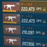 【ディビジョン】1.8.1最強武器ランキング【アレハンドロ/ハウス】
